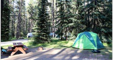 加拿大 露營。Whistlers Campground.擁有大型Playground的Jasper洛磯山脈國家公園營地