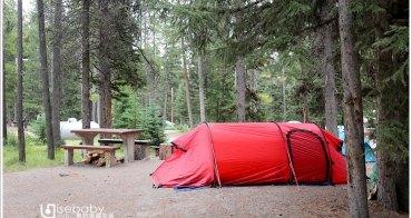 加拿大露營   班夫國家公園營地。隧道山1村Tunnel Mountain Village I Campground