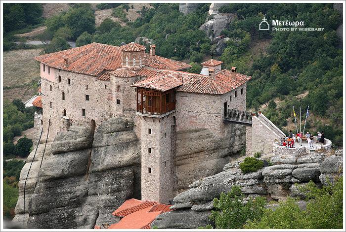 希臘自助遊記【78】Meteora.Agia Triada阿基亞.特里亞達修道院 - 三小二鳥的幸福生活