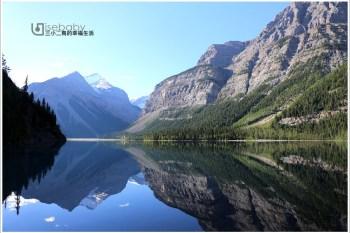 加拿大|健行。Berg Lake Trail.延著琥珀藍Robson River逆流而上的原始步道