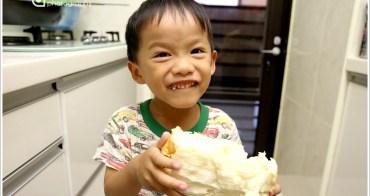 [親子烘焙] 105T麵包機-操作簡單又口感柔軟的省時法::液種鮮奶吐司