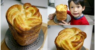 [親子烘焙] 105T麵包機::花式土司-地瓜&花生口味