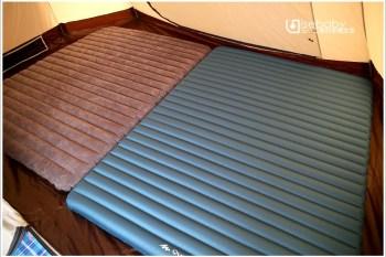 露營   裝備分享。DECATHLON迪卡儂雙人充氣床墊比較、推薦與選擇建議