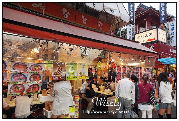 【旅行】2014日本。東京:上野阿美橫丁@生活美食藥妝購物市集,必吃500日圓鐵火丼 – WISELY's 拍拍照寫寫字