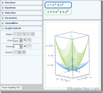 3D Graphing