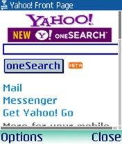 Yahoo India WAP Portal