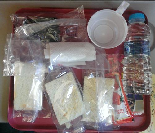 Air India On flight breakfast