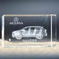 Laser Etched Glass Blocks Gifts