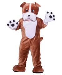 Bull Dog Mascot Pet Costume - Mascot & Animal Costumes