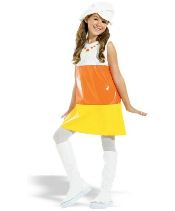 Candy Corn Kids Costume - Girl Costumes