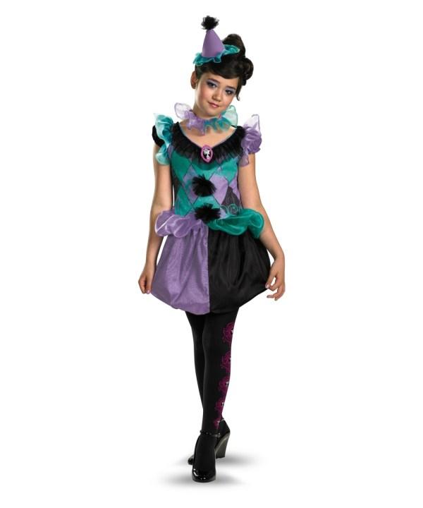 Coquettish Clown Girl Costume