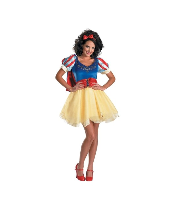 Snow White Classic Adult Costume - Women Disney Costumes