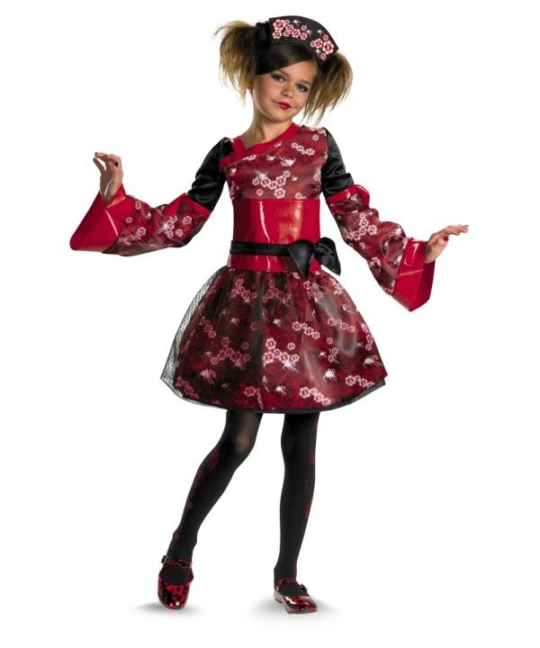 Gory Geisha Girl Costume - Costumes