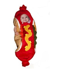 Hot Dog Baby Pet Costume - Halloween Costume