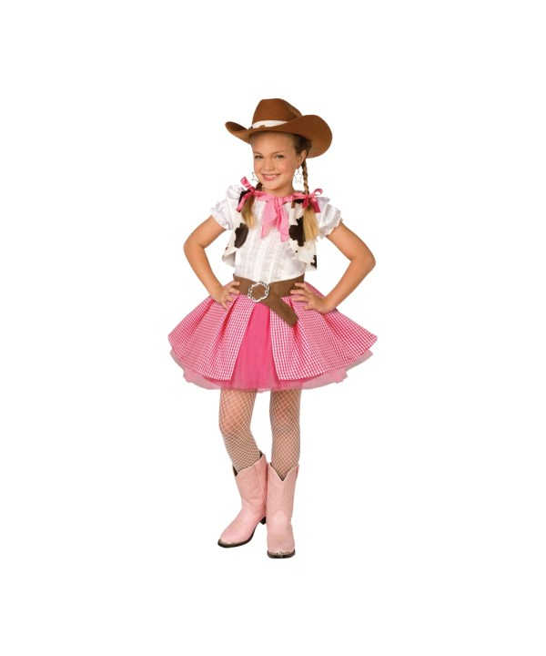 Cowgirl Cutie Costume Kid - Gowgirl Costumes