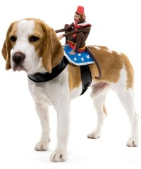 Monkey Dog Rider Pet Costume - Monkey Pet Costumes