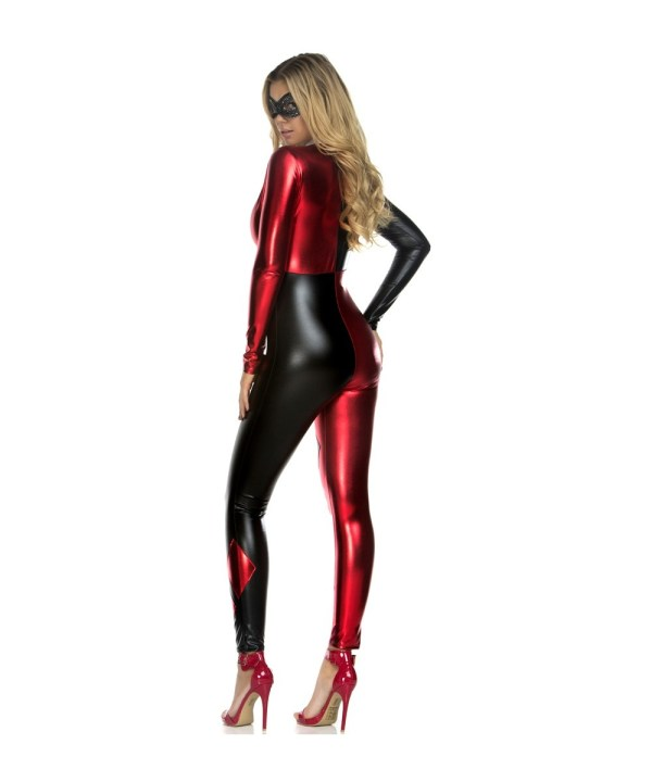 Harley Quinn Catsuit Womens Costume - Cosplay Costumes