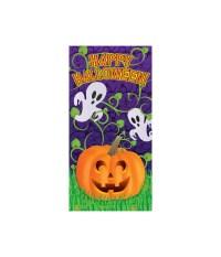Pumpkin Vines Halloween Door Decoration cover - Props ...