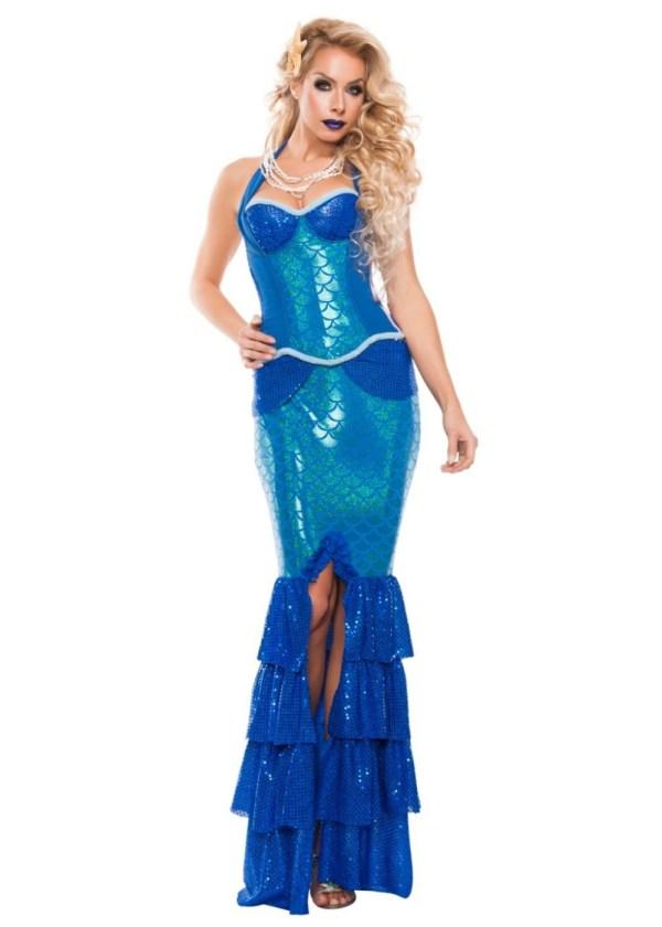 Sapphire Mermaid Womens Costume - Sexy Costumes