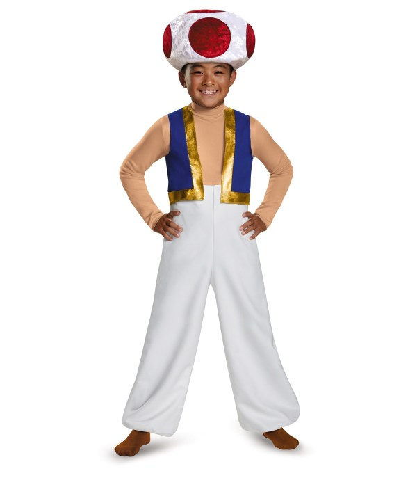 Super Mario Toad Halloween Costume