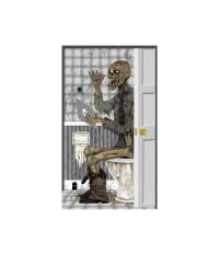 Zombie Toilet Door cover Decoration - Props & Decorations