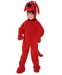 Kids Clifford the big Red Dog Pet Costume - Boys Costumes