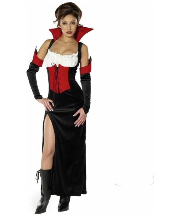 Adult Countess Carmella Vampire Halloween Costume - Women