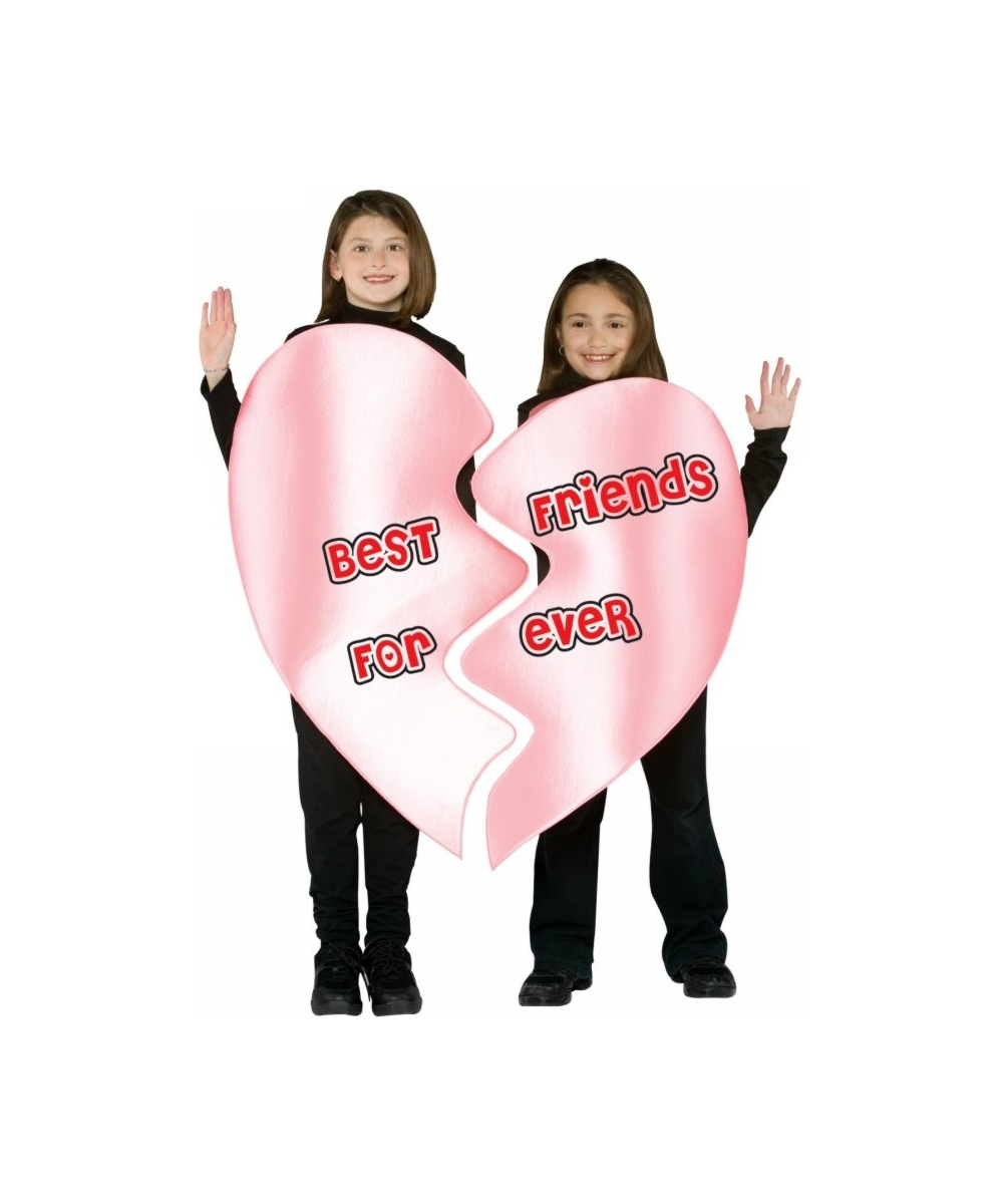 Be Friends Forever Heart Costume Kids Halloween Costumes