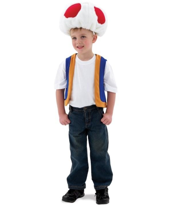 Super Mario Toad Costume