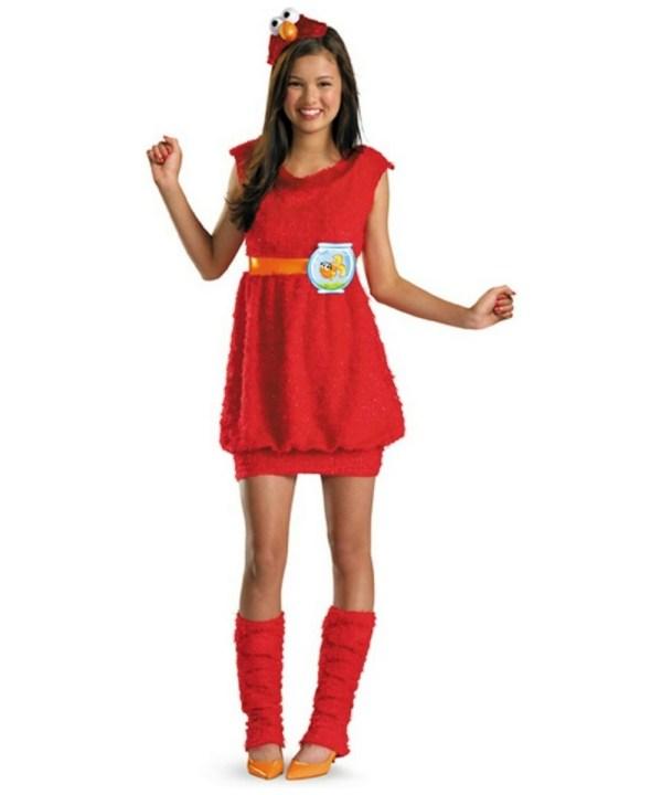 Elmo Costume - Child Teen Seasme Halloween Costumes