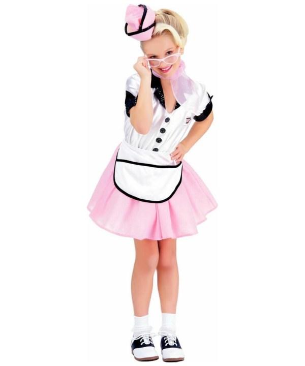 Soda Pop Girl Costume - Kids Halloween