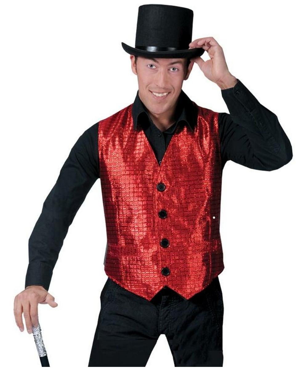 Red Vest  Adult Costume  Halloween Costume at Wonder Costumes