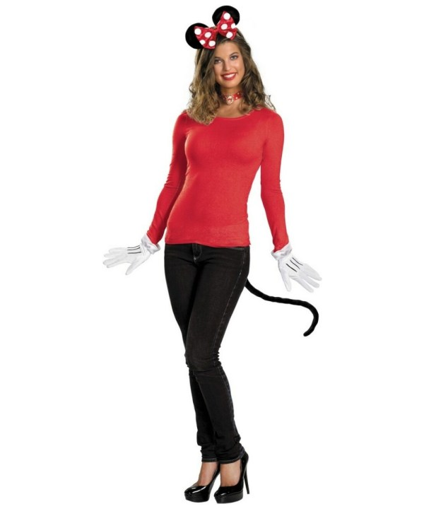 Minnie Mouse Disney Adult Costume Kit Red