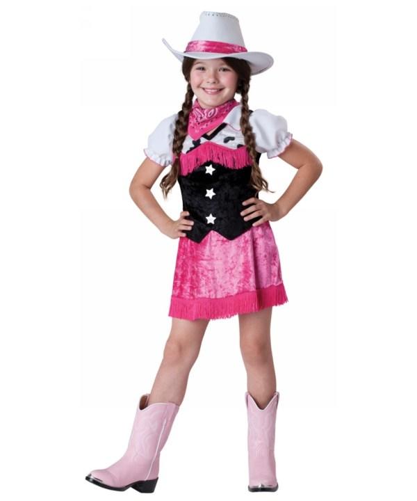 Cowgirl Cutie Kids Costume - Cowboy Costumes