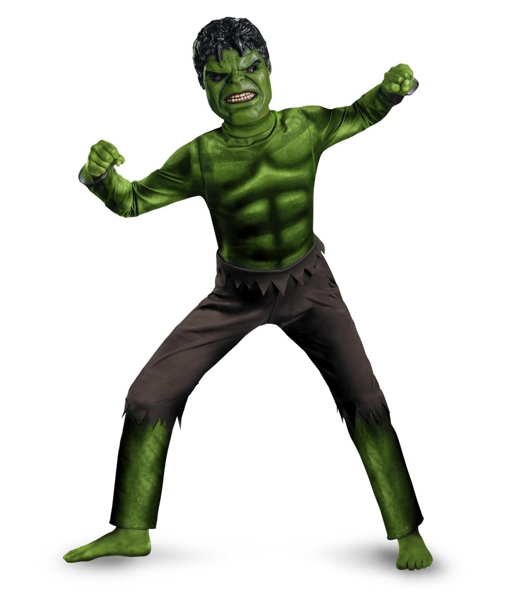 Hulk Avengers Boys Costume  Boy Movie Costumes