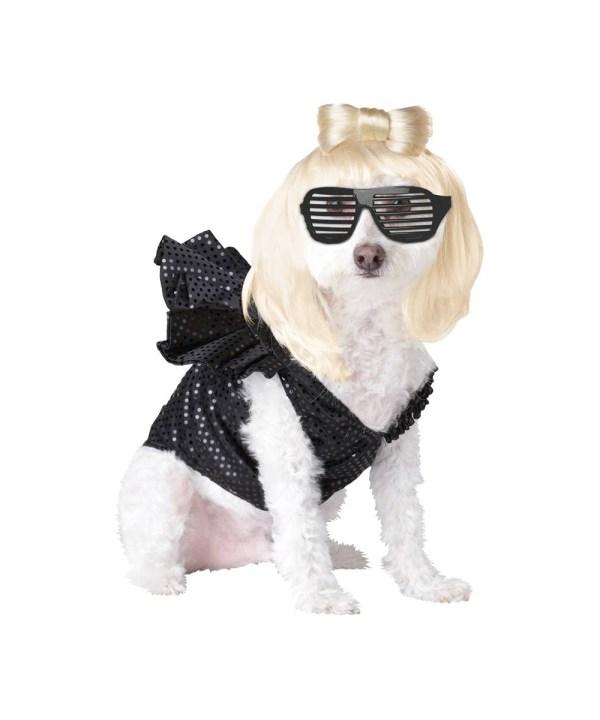 Lady Dogga Dog Pet Costume - Costumes