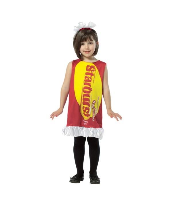 Starburst Ruffle Dress Girl Halloween Costume - Cute