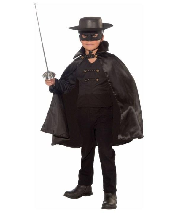 Bandido Kids Spanish Costume - Boys Zorro Superhero
