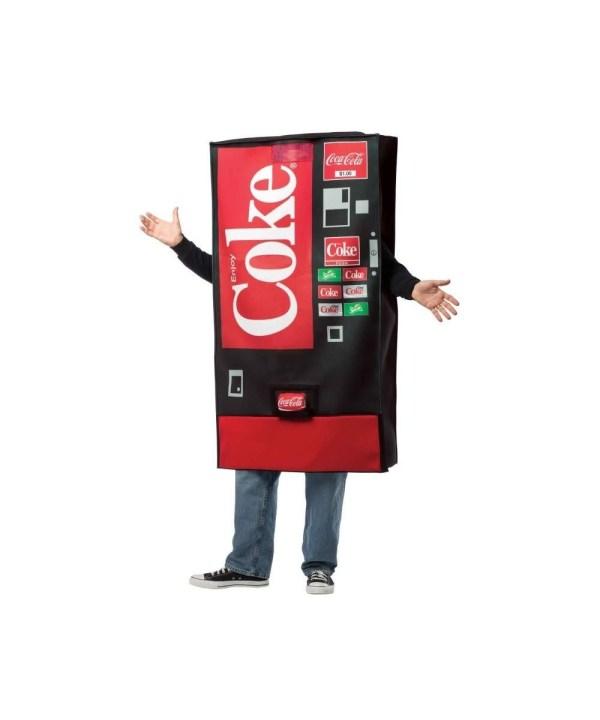 Coke Vending Machine Costume - Funny Costumes