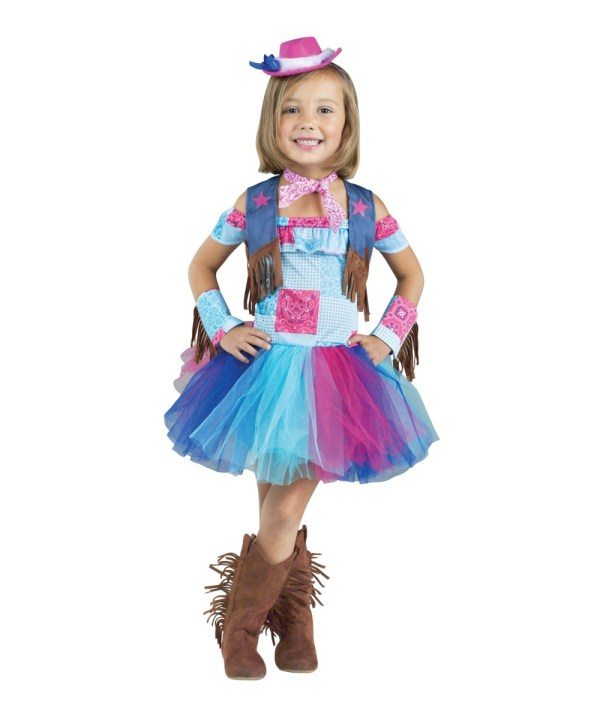 Saddle Sweetie Toddler Girls Cowgirl Costume