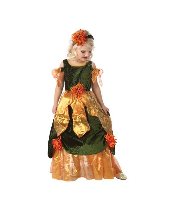 Maple Fall Princess Girls Costume