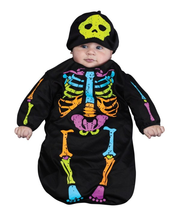 Baby Skeleton Halloween Costume