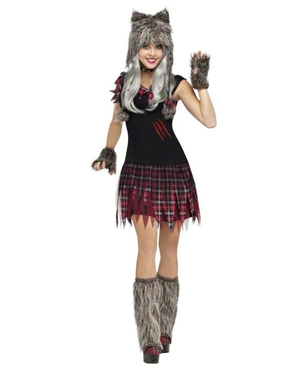 Wicked Wolfie Womens Costume - Women