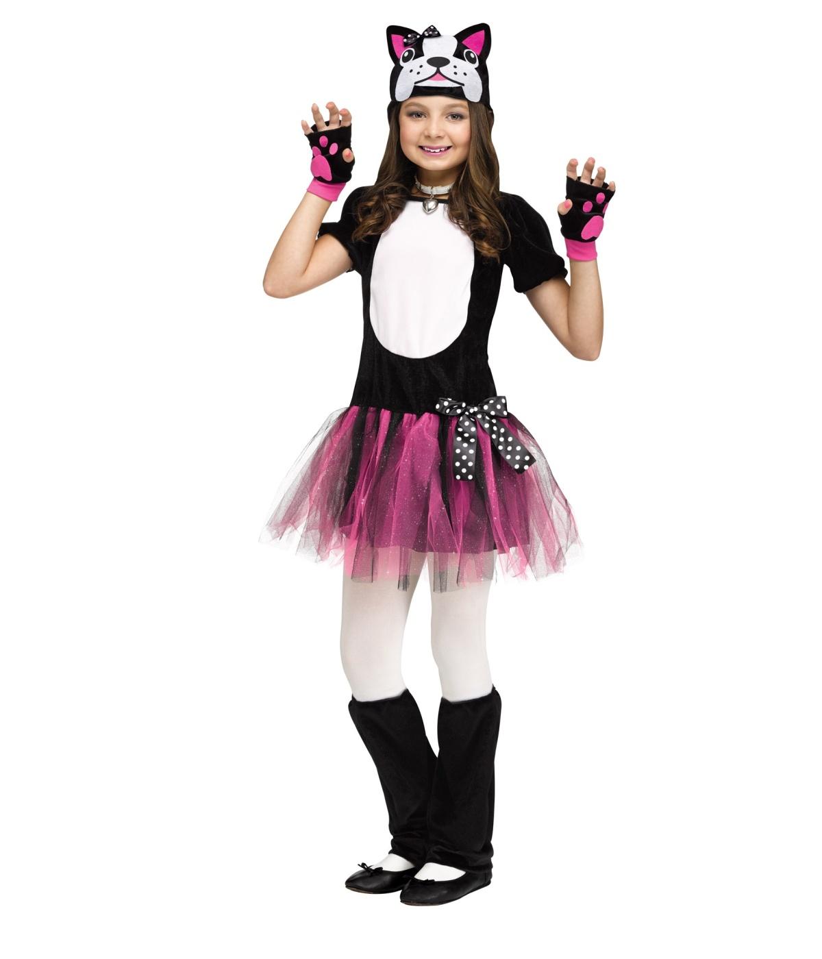 Bulldog Ballerina Girls Costume