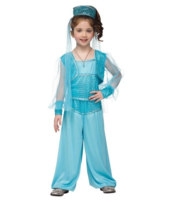 Magic Carpet Genie Toddler Girls Costume - Disney Costumes