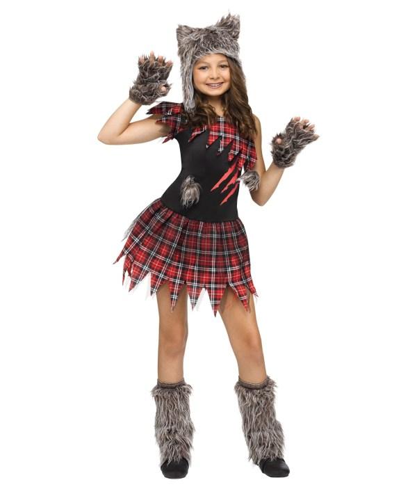 Wild Wolfie Girls Costume - Animal Costumes