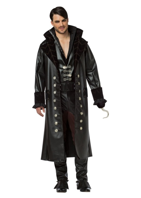 Time Captain Hook Mens Costume - Tv Show Costumes