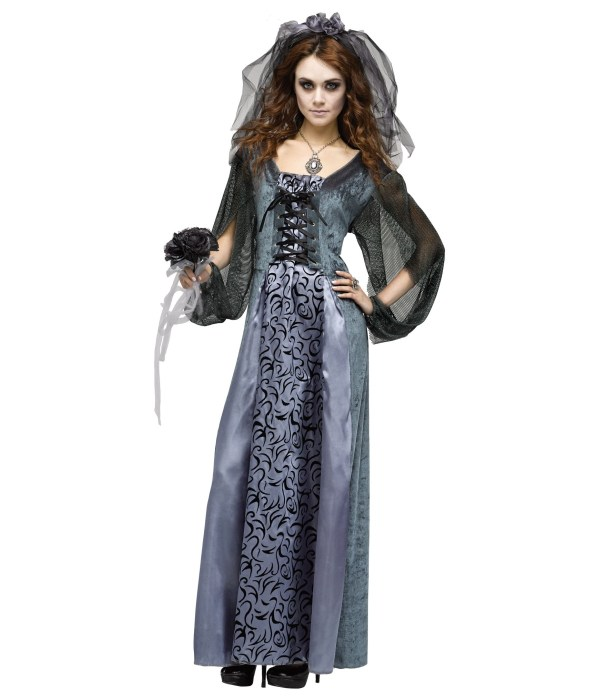 Graveyard Bride Womens Costume - Scary Costumes