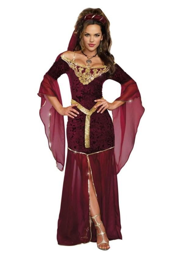 Medieval Mistress Renaissance Womens Costume