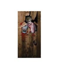 Zombie Door cover Halloween Decoration - Props & Decorations